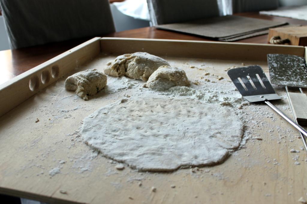 Pehmeiden tacojen leivonta