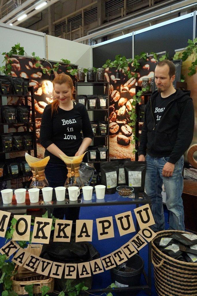 Mokkapuu kahvipaahtimo