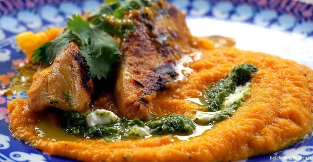 Marokkolaista kanaa ja porkkapyree beach house kitchen