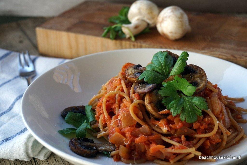 kasvispagetti