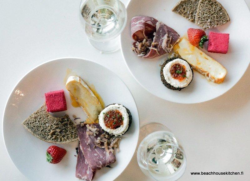 Taste of Helsinki tapaslautanen