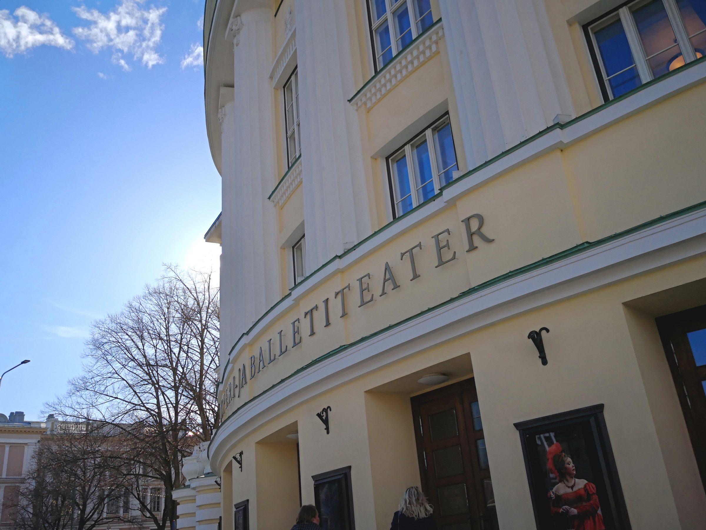 balettimatkalla Tallinnassa