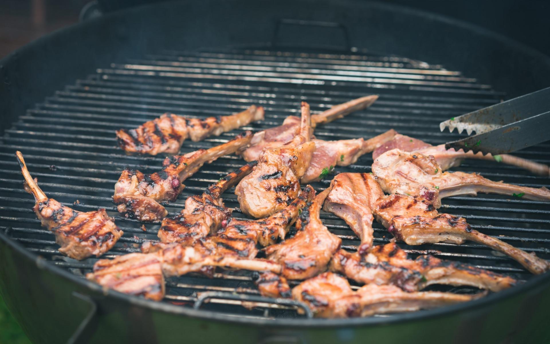 karitsa kare grillissä