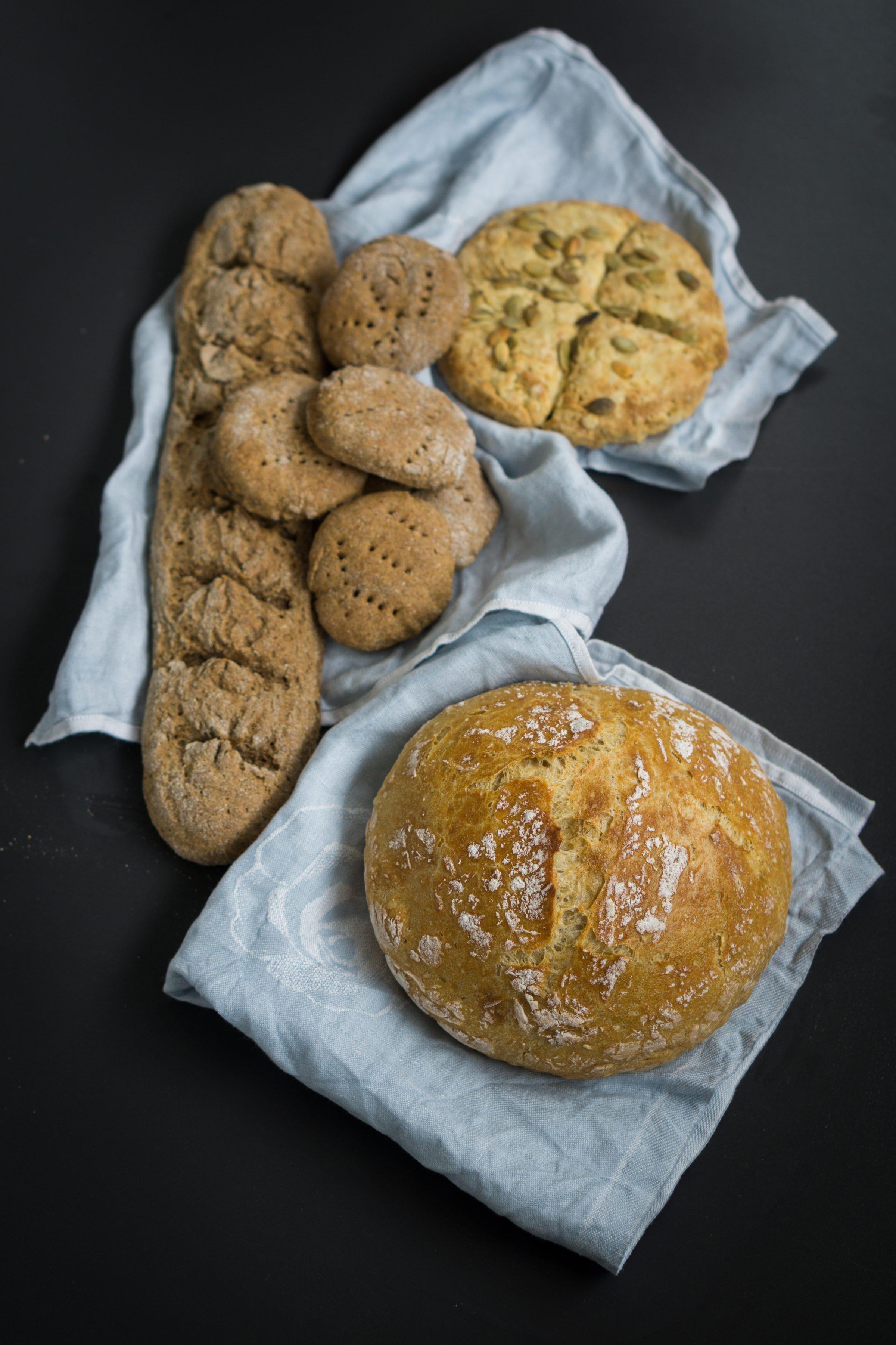 leipäohjeita