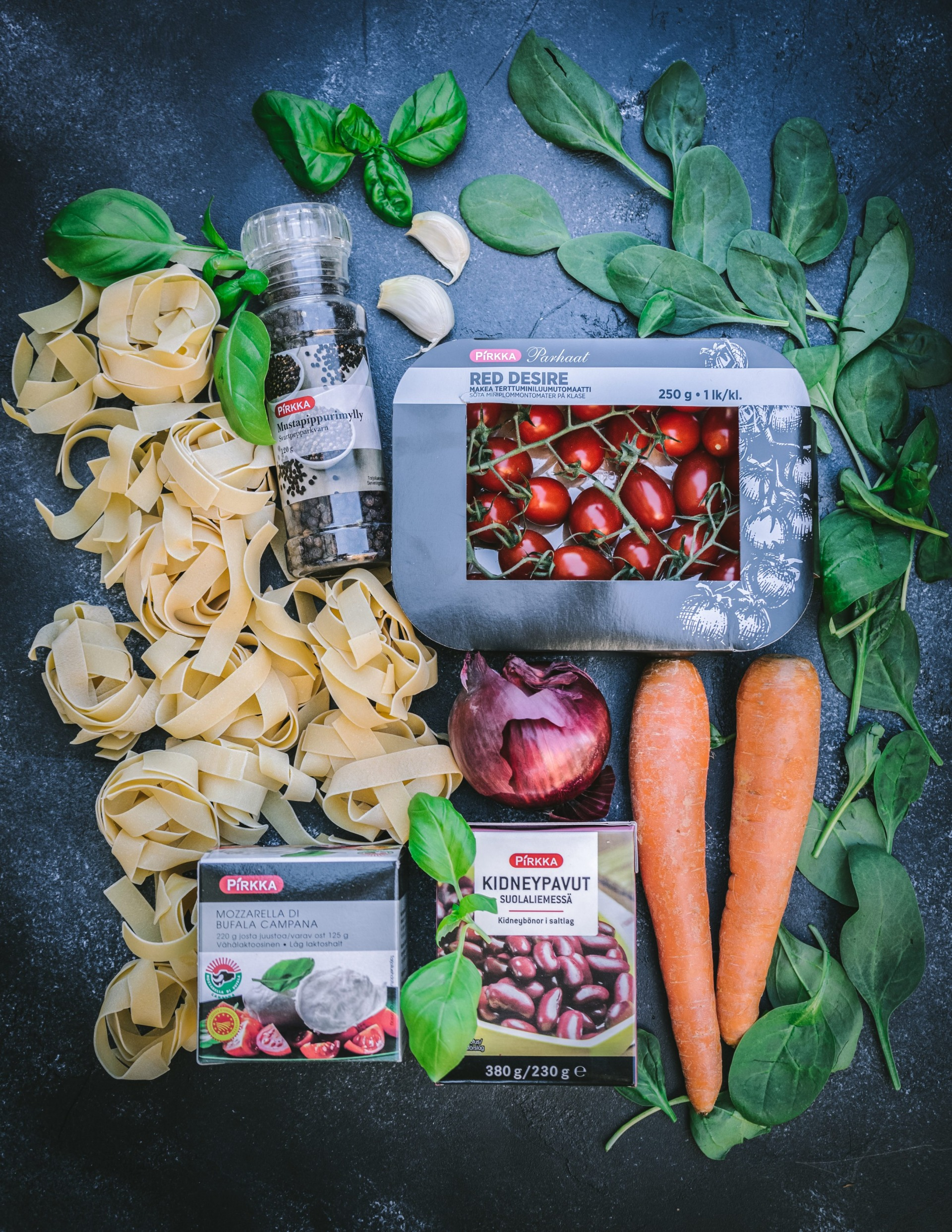 hemmottelupasta one pot pasta