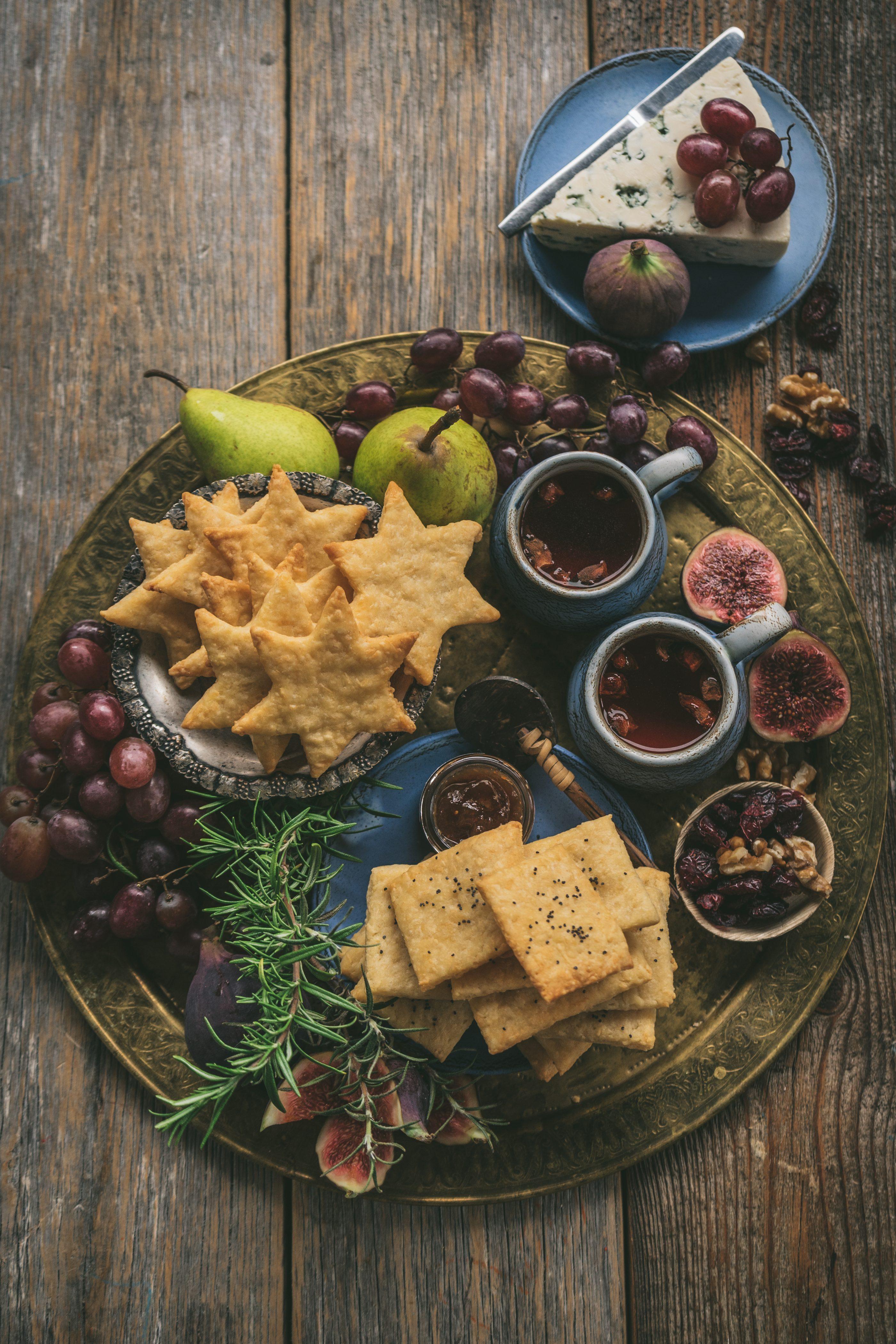 suolaiset juustokeksit
