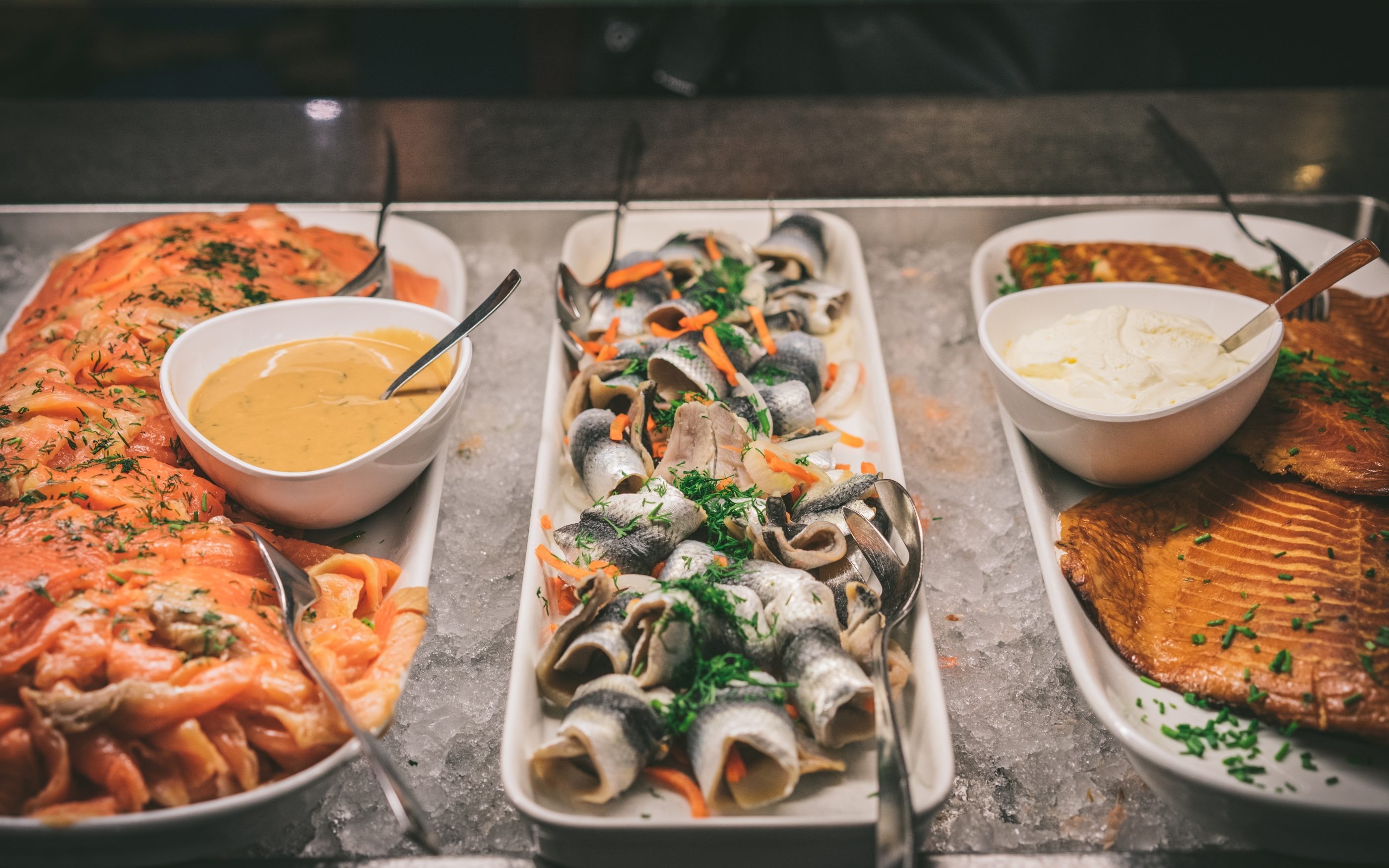 Eckerö Linen buffet