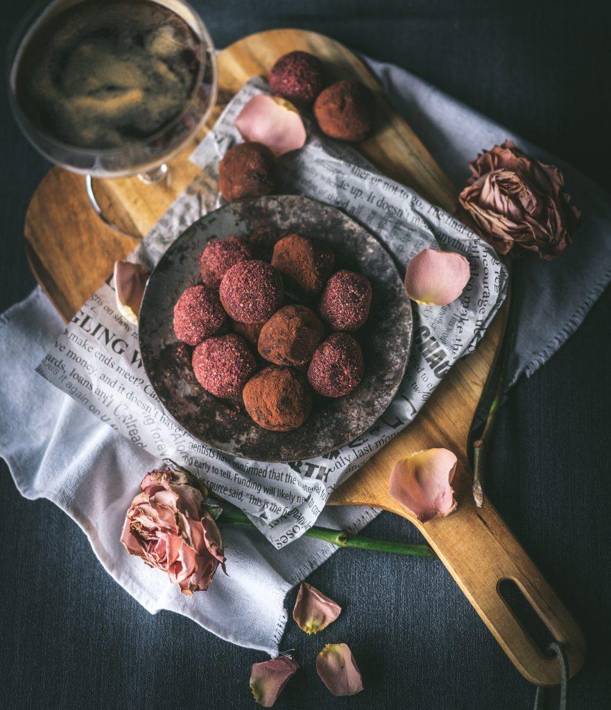 kahluatryffelt suklaa